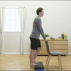Calf Muscle Stretch On Step