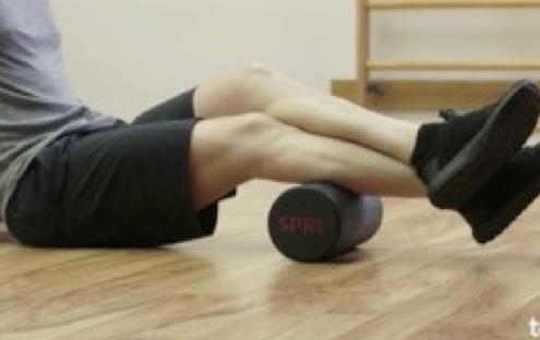 Foam Roller Calf Muscle